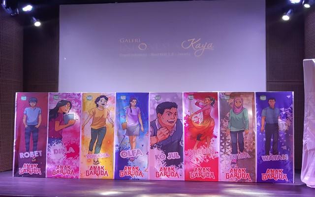 Karakter utama yang akan hadir dalam film Anak Garuda - Bisnis/Syaiful M