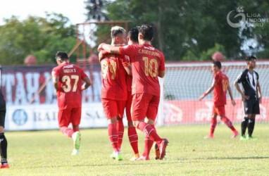 Hasil Liga 1, Drama Lima Gol Warnai Kemenangan Kalteng Putra Atas Bhayangkara FC