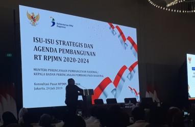 Isu Ekonomi Jadi Fokus Pembahasan RPJMN 2020-2024