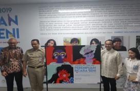 10 Seniman Perempuan Hiasi Halte Bus dan Stasiun MRT Sudirman-Thamrin