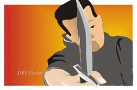 Polisi Diserang, Anggota Polsek Tlogowungu Pati Dibacok