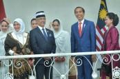 Doa Raja Malaysia untuk Presiden Jokowi
