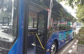 Menjajal Bus Listrik di Jalanan Ibu Kota Jakarta