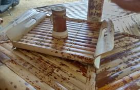 Perajin Bambu Batik Sangihe Mendapat Pelatihan