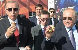 Udara Moscow Panas, Vladimir Putin Belikan Erdogan Es Krim Rusia