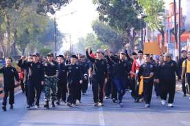 Ribuan Pesilat dari 14 Perguruan di Madiun Deklarasi…