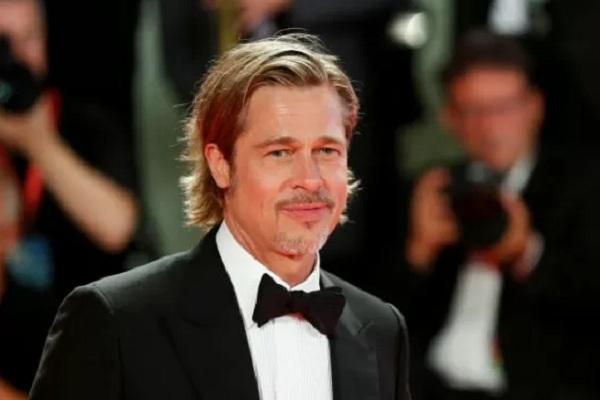 "Brad Pitt pada screening film ""Ad Astra"" di 76th Venice Film Festival. - Reuters"