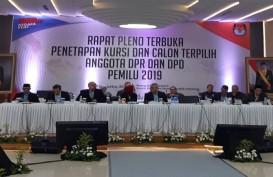 KPU Gelar Rapat Pleno Tetapkan Legislator Terpilih 2019-2024