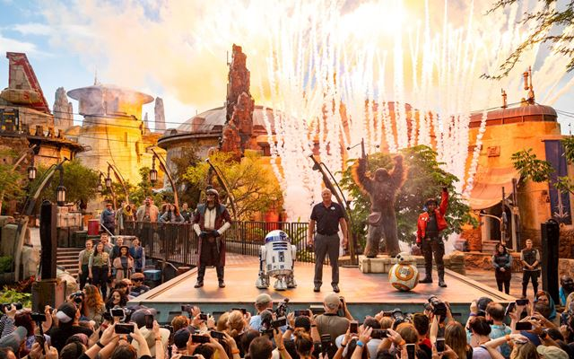 Pembukaan Star Wars: Galaxy's Edge di Walt Disney World Resort, Florida, Amerika Serikat - Sumber: laman resmi Disney