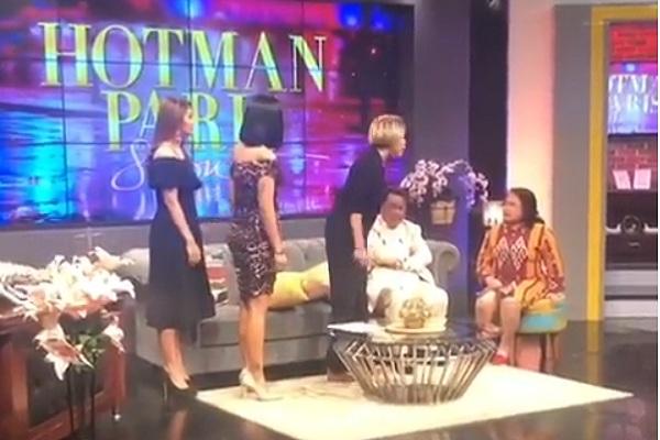 Nikita Mirzani semprot pengacara Elza Syarief di acara Hotman Paris Show - Istimewa