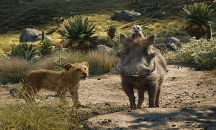 """Salah satu adegan dalam film """"The Lion King"""" - Antara"""