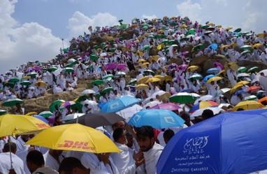 Jemaah Haji Embarkasi Balikpapan Kembali ke Tanah Air