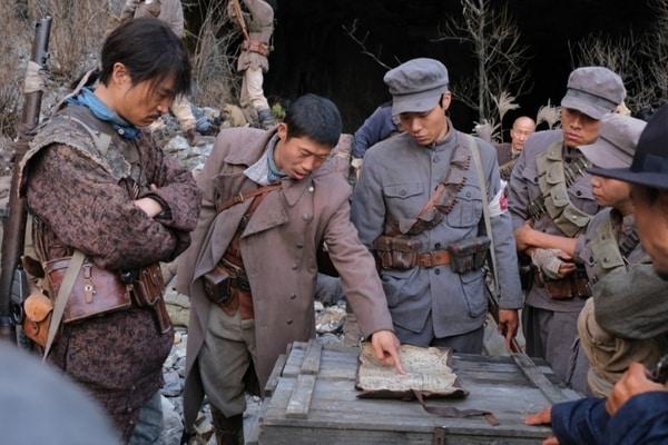 Behind the scene film The Battle: Roar of Victory / Dok. Showbox Korea