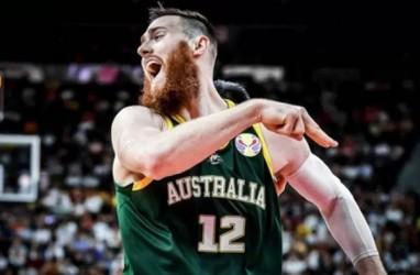 Hasil Piala Dunia Basket, Australia Sukses Redam Kanada