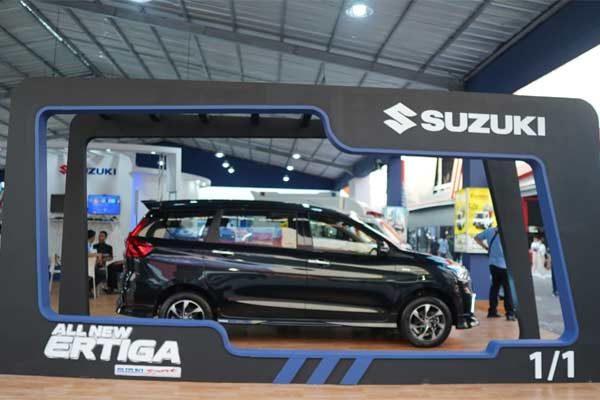 Suzuki Ertiga di Jakarta Fair. - Bisnis.com