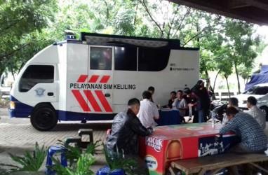 Lima Lokasi Layanan SIM Keliling Jakarta, Selasa