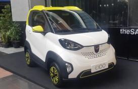 IEMS 2019, Wuling Hadirkan Mobil Listrik E100 dan E200