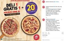 Hari Pelanggan Nasional, Cek Promo di Restoran Berikut Ini