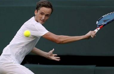 Hasil Tenis AS Terbuka, Medvedev ke Semifinal Setelah Bekuk Wawrinka