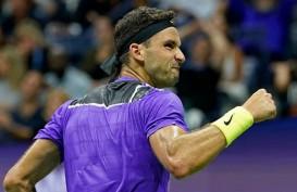 Grigor Dimitrov Hentikan Roger Federer di Tenis AS Terbuka