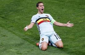 Kualifikasi Euro 2020, Belgia Tanpa Abang Adik Eden Hazard & Thorgan