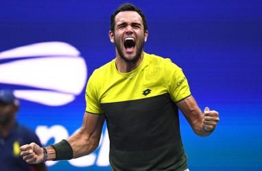 Setelah 42 Tahun, Berrettini Putra Italia Pertama ke Semifinal Tenis AS Terbuka