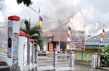 Data Kerusakan Akibat Kerusuhan di Manokwari Segera Dikirim ke Jakarta