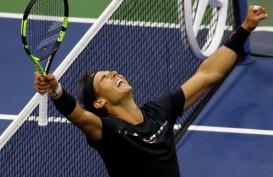 Bertarung Bak Singa, Nadal Lolos ke Semifinal Tenis AS Terbuka
