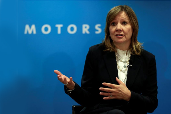General Motors Chairman and CEO Mary Barra. - REUTERS