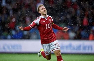 Hasil Kualifikasi Euro, Irlandia & Denmark Belum Terkalahkan