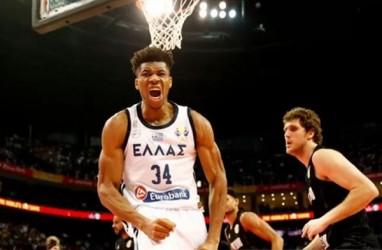 Piala Dunia Basket, Giannis Antetokounmpo Antar Yunani ke Babak Kedua