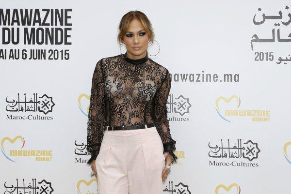 Jennifer Lopez di Maroko - Reuters
