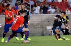 10 Kartu Kuning, Argentina Tanpa Lionel Messi vs Cile Skor 0 - 0