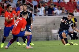 10 Kartu Kuning, Argentina Tanpa Lionel Messi vs Cile…
