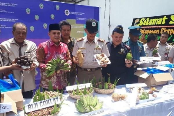 Bea Cukai Kuala Tanjung Hadiri Pelepasan Ekspor Biji Pinang