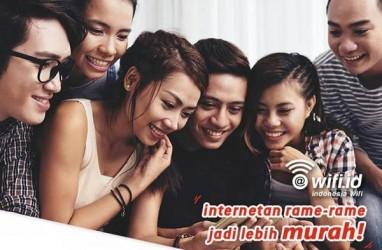 Penetrasi Ponsel Pintar Pacu Pertumbuhan WiFi.id