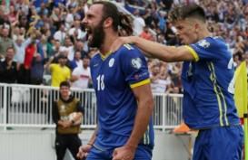 Hasil Kualifikasi Euro 2020 : Kejutan Besar, Kosovo Hajar Cheska