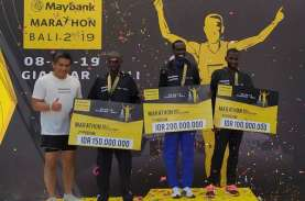 Kenya Dominasi Podium Juara Maybank Marathon Bali…