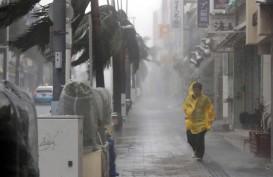 Waspadai Topan Berkecepatan 216 Kilometer per jam, Jepang Setop Sementara Operasional Penerbangan