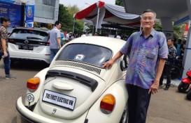 Intip Mobil VW Modifikasi Mesin Listrik