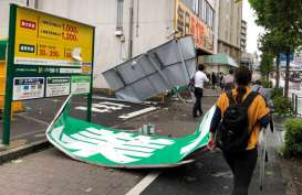 Topan Faxai Hantam Timur Tokyo, Seorang Wanita Tewas