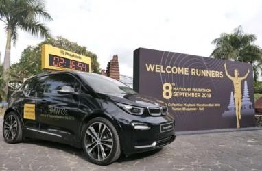 Mobil Listrik BMW i3s Jadi Lead Car Maybank Marathon 2019