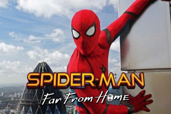 Spiderman Far From Hom - istimewa