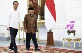 Jokowi Jenguk B.J. Habibie