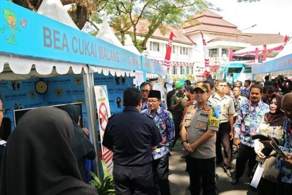 Bea Cukai Malang Meriahkan Roadshow Jelajah Negeri Bangun Antikorupsi Tahun 2019
