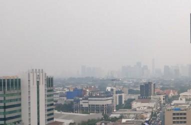 Pagi Ini, Udara Kotor di Jakarta Melonjak Drastis