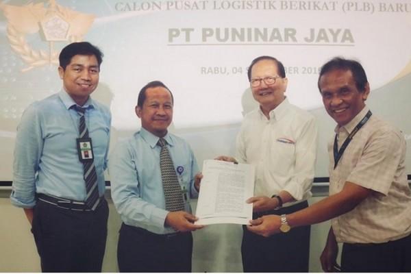 Kanwil Bea Cukai Jakarta Berikan Izin PLB kepada PT Puninar Jaya