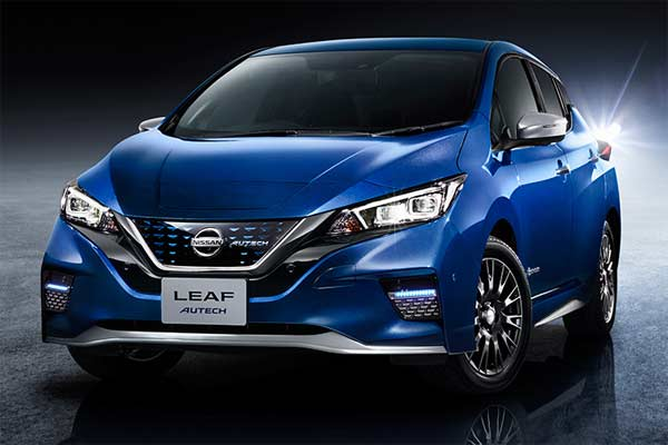 Nissan Leaf mengadopsi e-Pedal. - Nissan