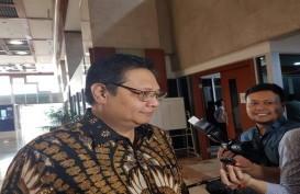 Airlangga: Tak Ada Pertemuan Golkar-PDIP untuk Muluskan Revisi UU KPK