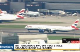 Belum Capai Titik Temu, Pilot British Airways masih Lanjutkan Aksi Mogok